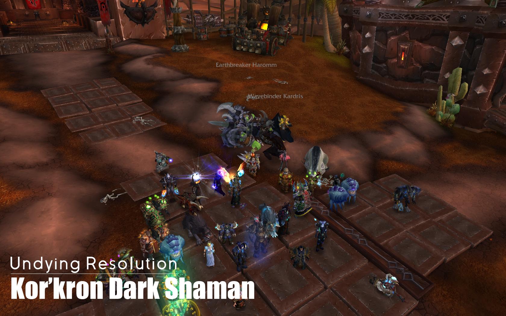 kor'kron-dark-shaman
